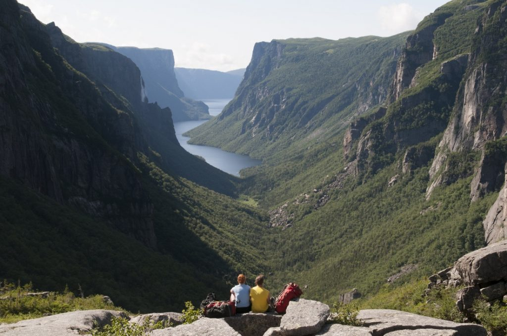 Fiorde no Gros Morne National Park - Foto Newfoundland and Labrador Tourism/Divulgação