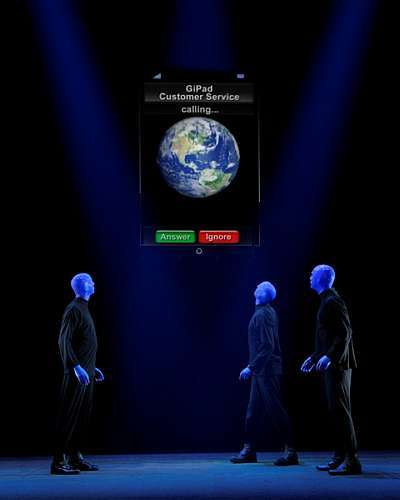 Blue Man Group Show__