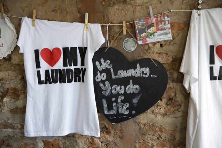 I Love My Laundry, na Heritage Square - Foto: Samantha Reinders/NYT