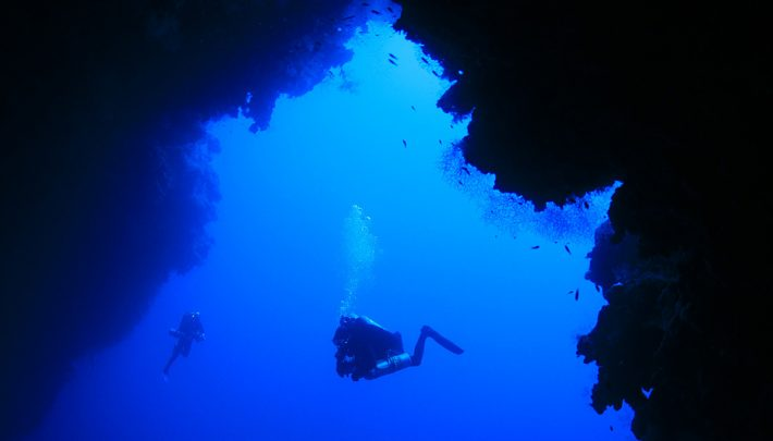 blue hole in